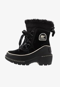 Sorel - CHILDRENS TORINO III - Schnürstiefelette - black/light bisque - 1