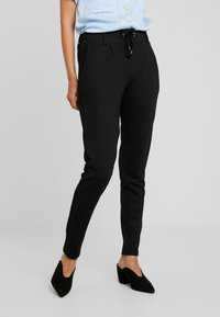 Soyaconcept - DENA SOLID - Tracksuit bottoms - black - 0