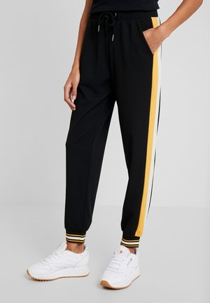SIHAM - Tracksuit bottoms - black combi