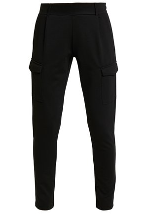 DENA SOLID - Trainingsbroek - black
