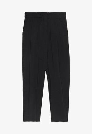 RADIA - Trousers - black