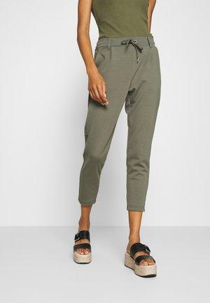 ELISE - Spodnie materiałowe - olive