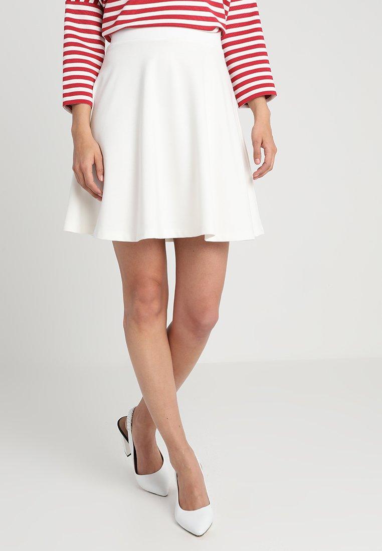 Soyaconcept - DENA SOLID - A-line skirt - off-white