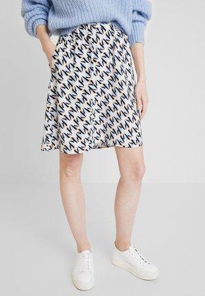 ASIMA - A-line skirt - powder blue combi