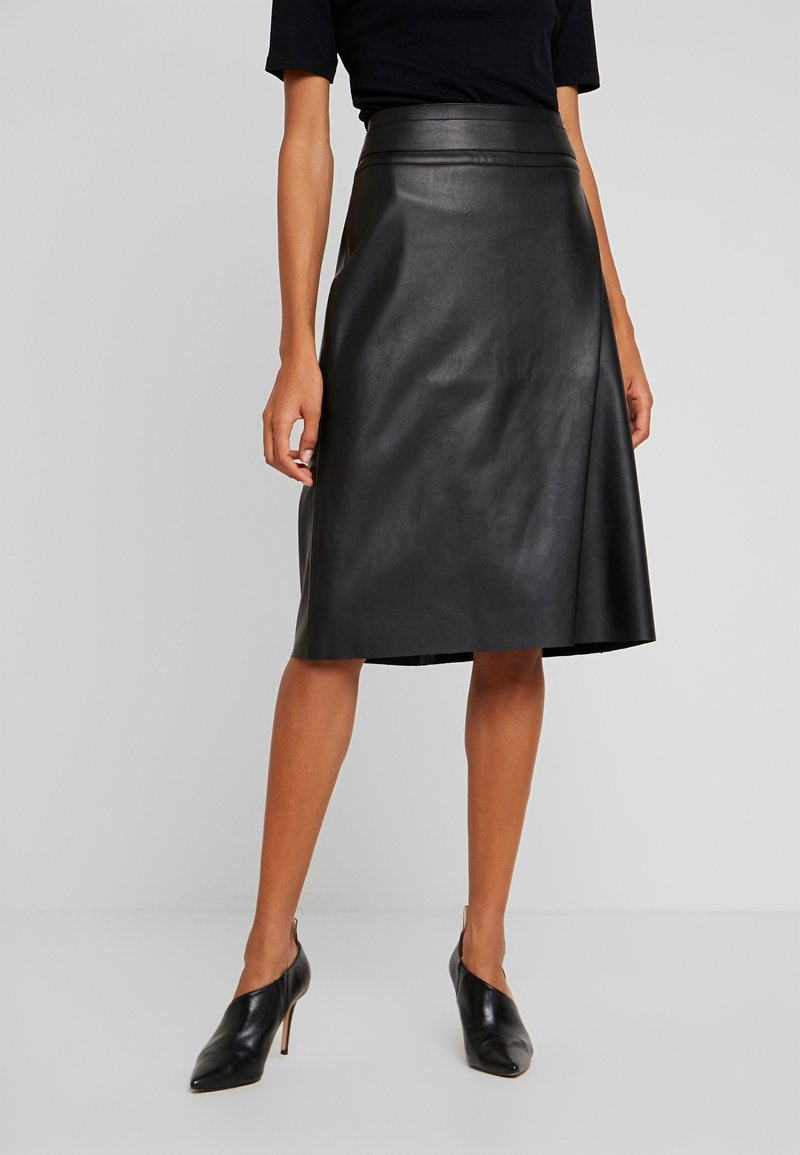 Soyaconcept - BECKIE - A-line skirt - black