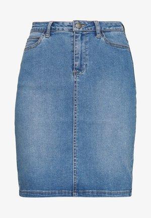 ANDORA  - Denim skirt - light blue denim