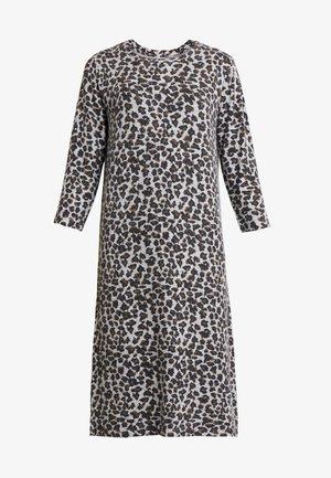 ALBIKA  - Vestido de punto - grey melange combi