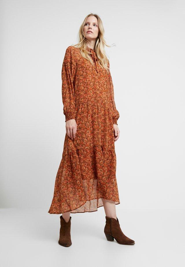 BODIL - Maxi dress - sugar cane combi