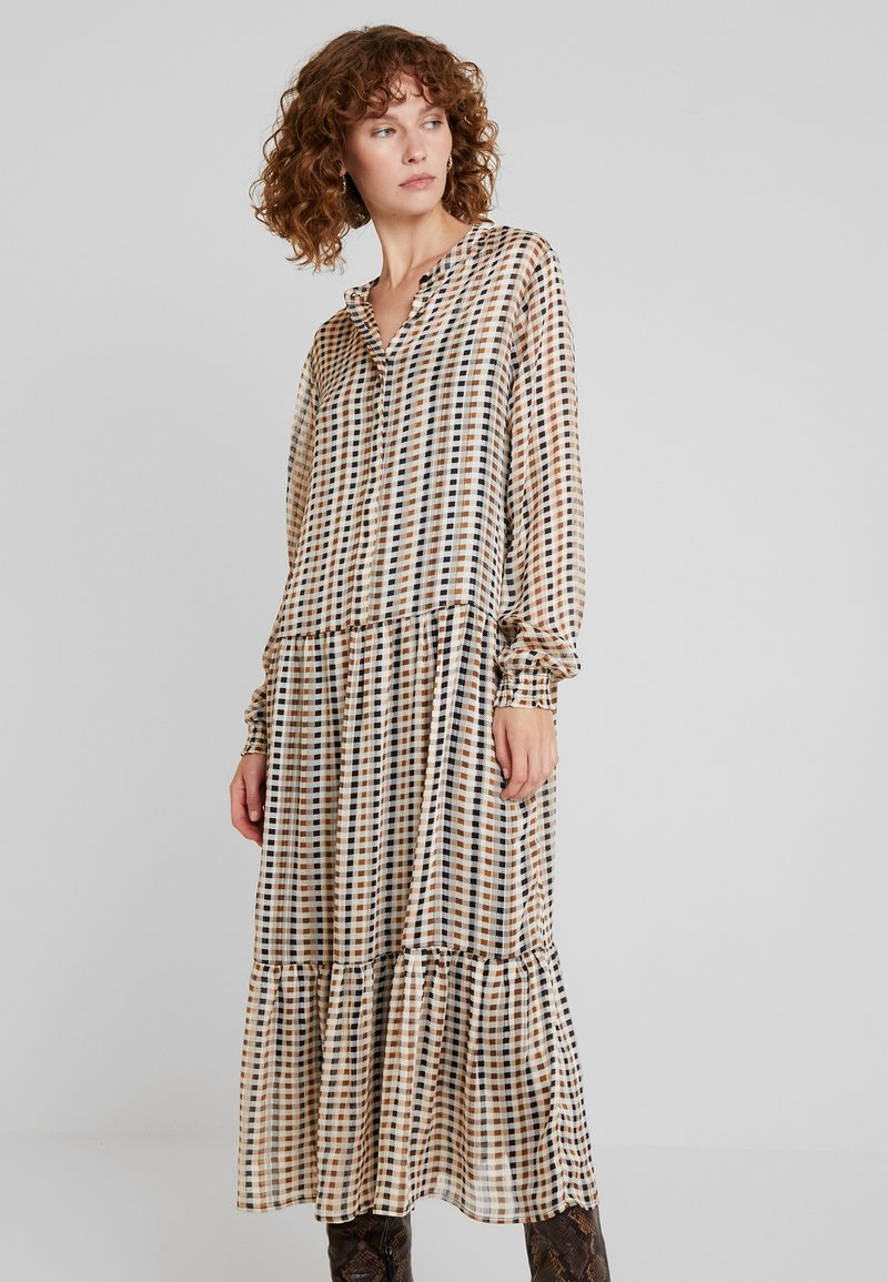 Soyaconcept - Maxi dress - camel combi