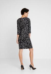 Soyaconcept - CLARISSA - Strikket kjole -  black combi - 3