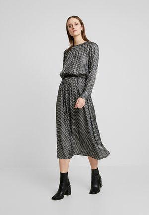 EDITH - Day dress - dark earth combi