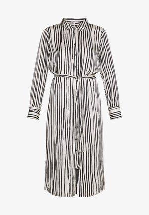 GINA - Robe d'été - black/white