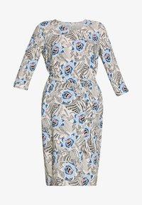 Soyaconcept - GOGO - Sukienka letnia - cristal blue combi - 3