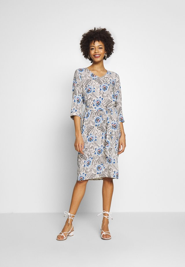 GOGO - Day dress - cristal blue combi