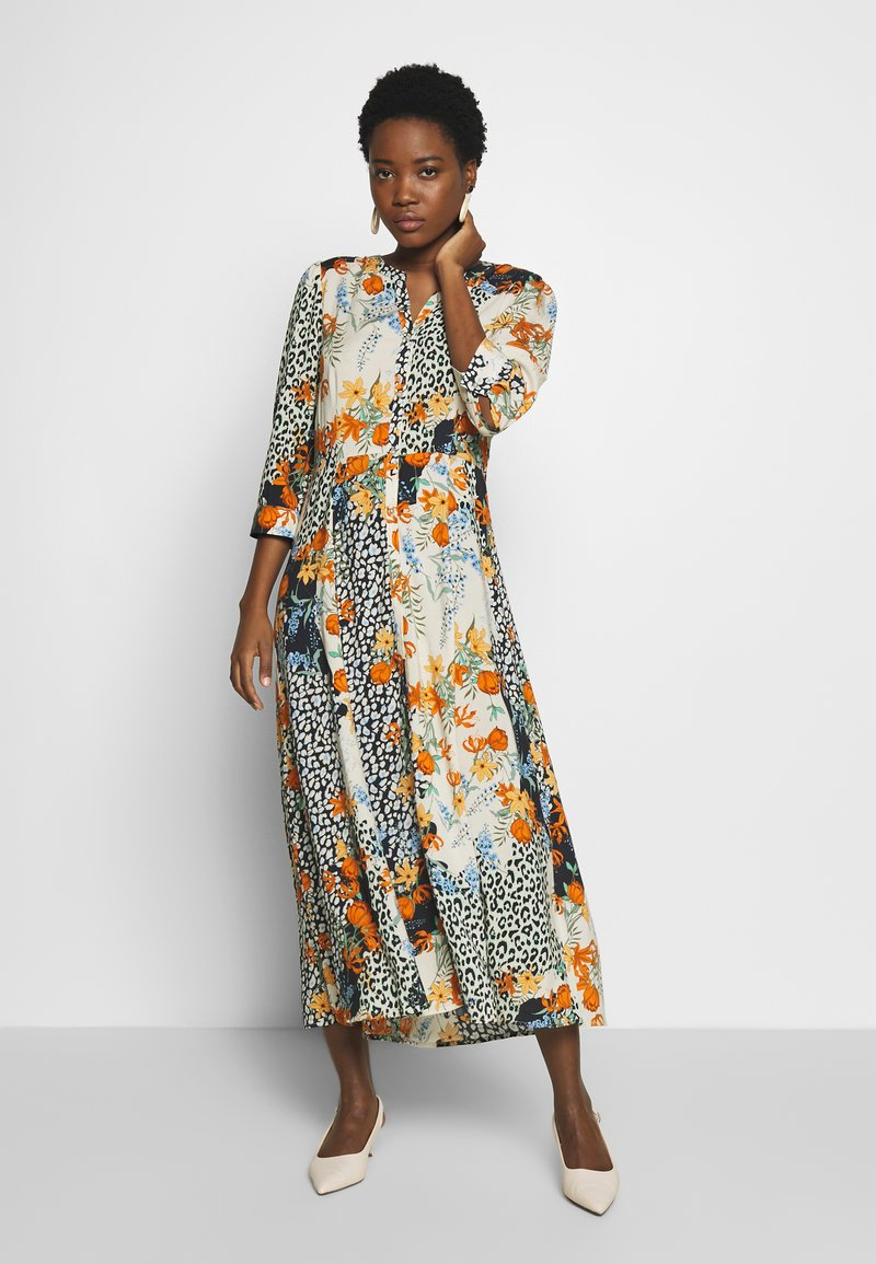Soyaconcept - GAIGA - Maxi šaty - dark orange