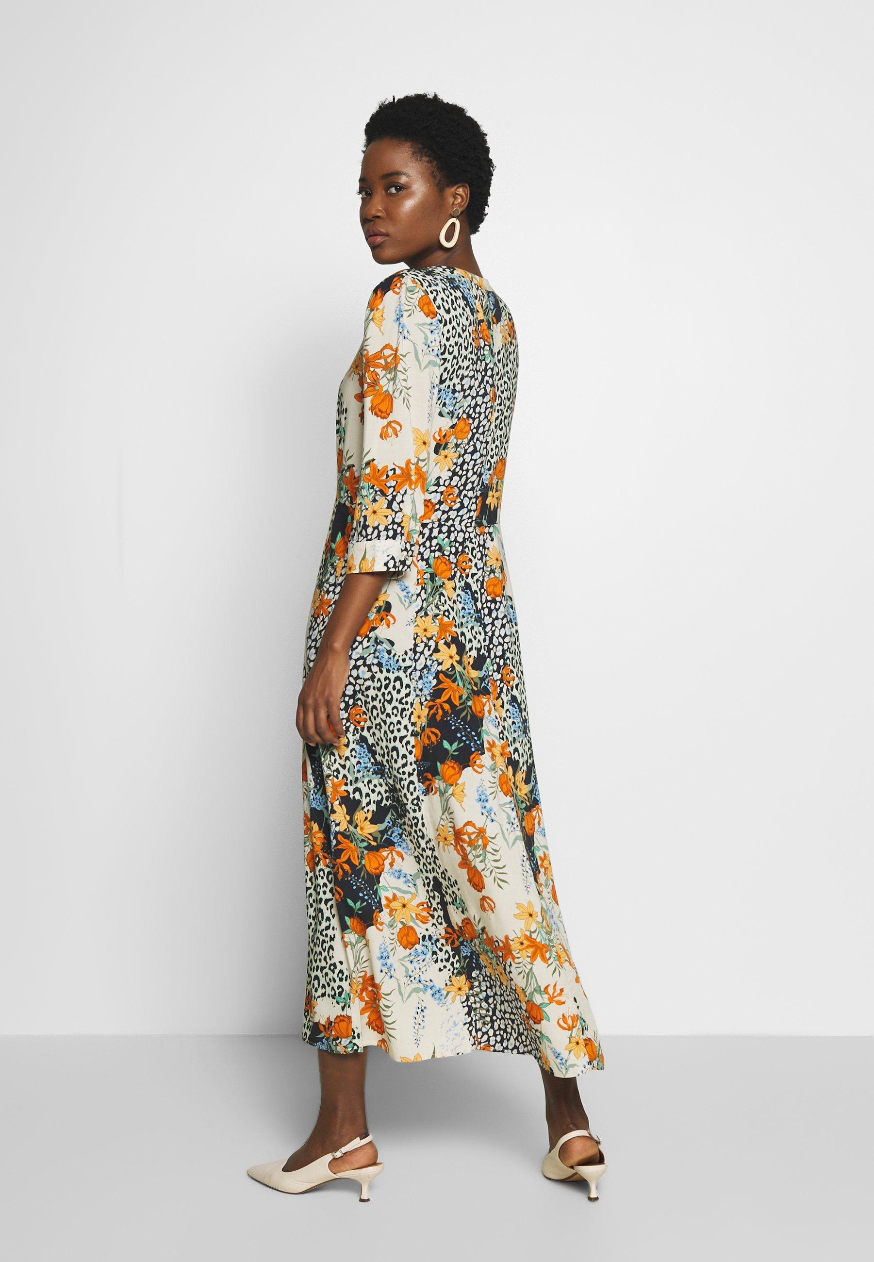 Soyaconcept Gaiga - Maxi Dress Dark Orange