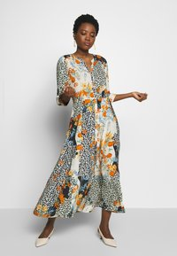 Soyaconcept - GAIGA - Maxi šaty - dark orange - 1
