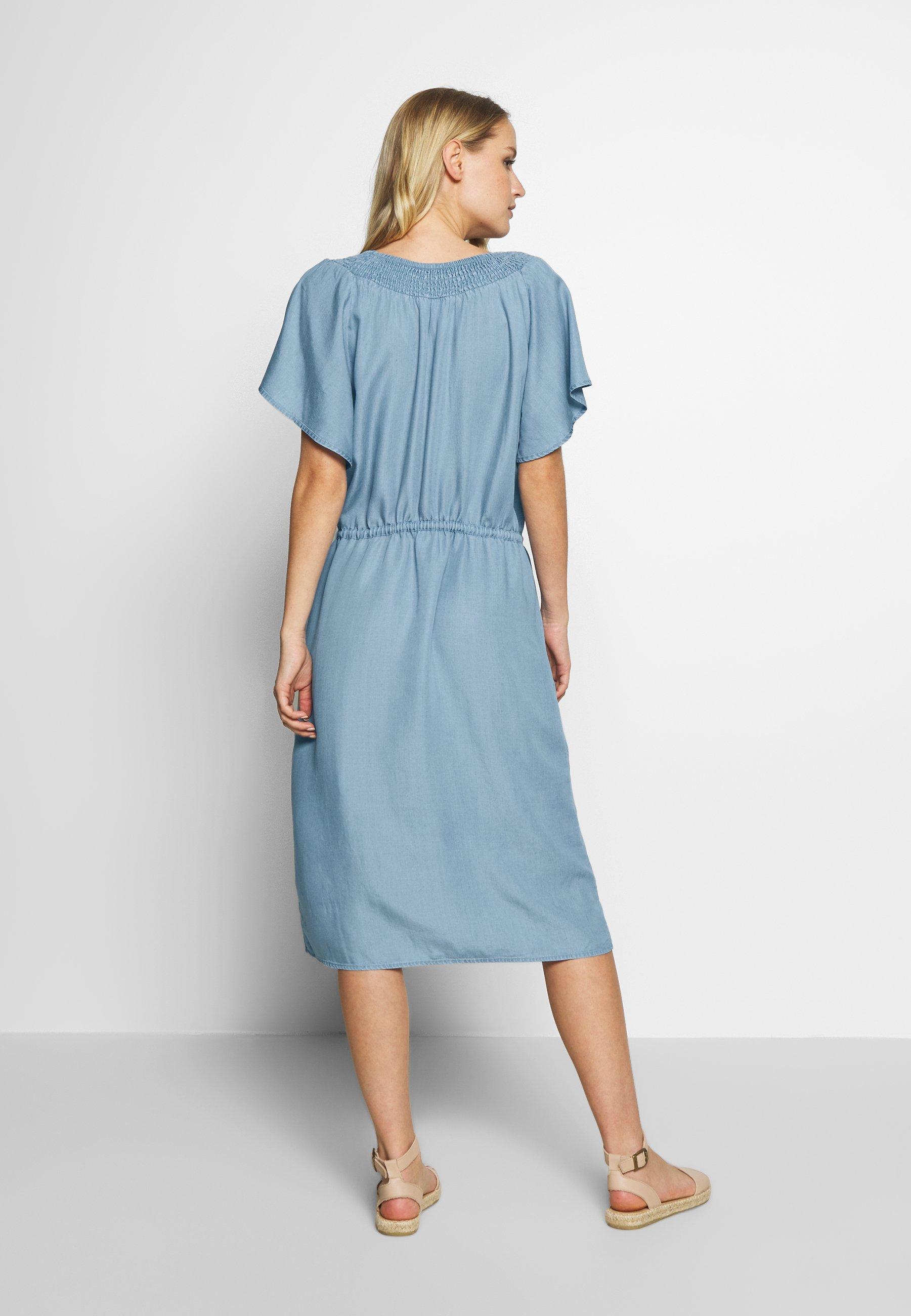 Soyaconcept LIV - Sukienka jeansowa - light blue denim
