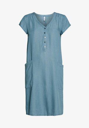 LIV - Korte jurk - light blue denim