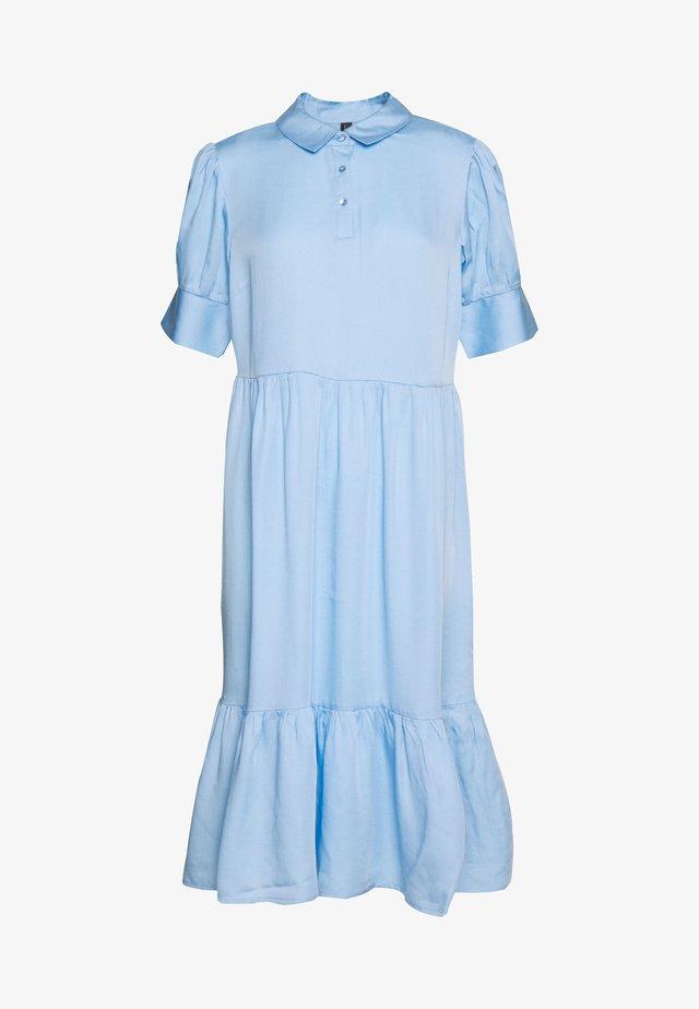 GESINA - Shirt dress - cristal blue