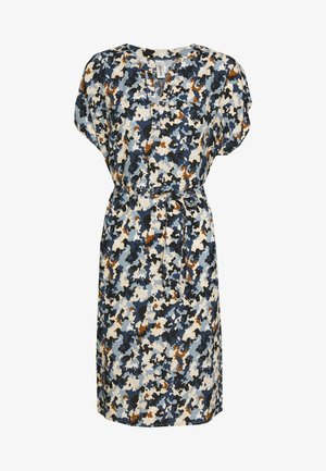 KALIMA - Korte jurk - dusty blue