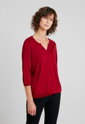 FELICITY - Long sleeved top - cabernet