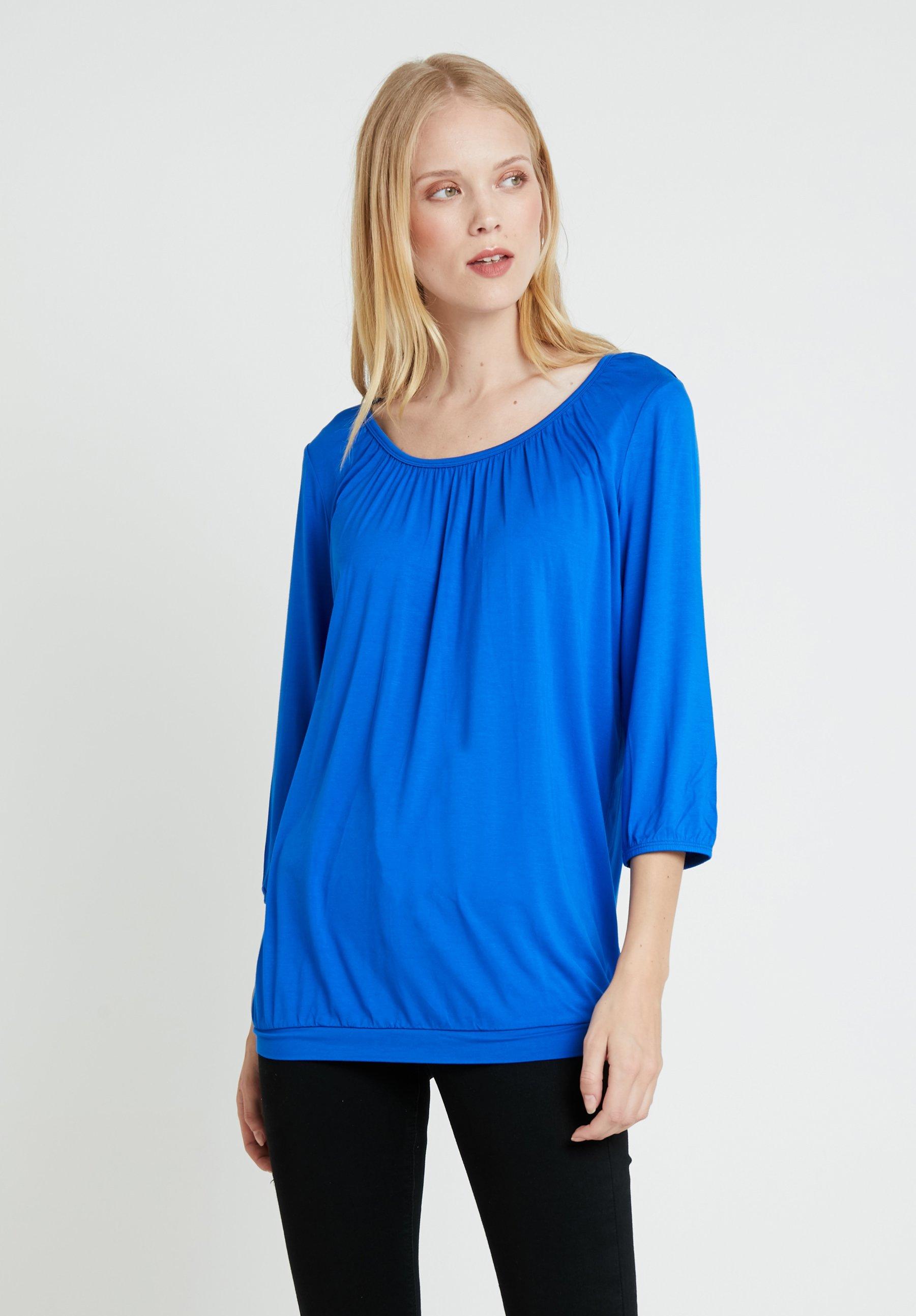 Manches MaricaT Ultra Soyaconcept shirt Longues Blue À CodexB