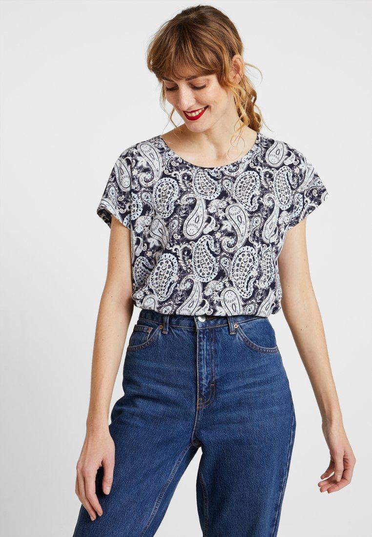 Soyaconcept - FELICITY - T-Shirt print - navy