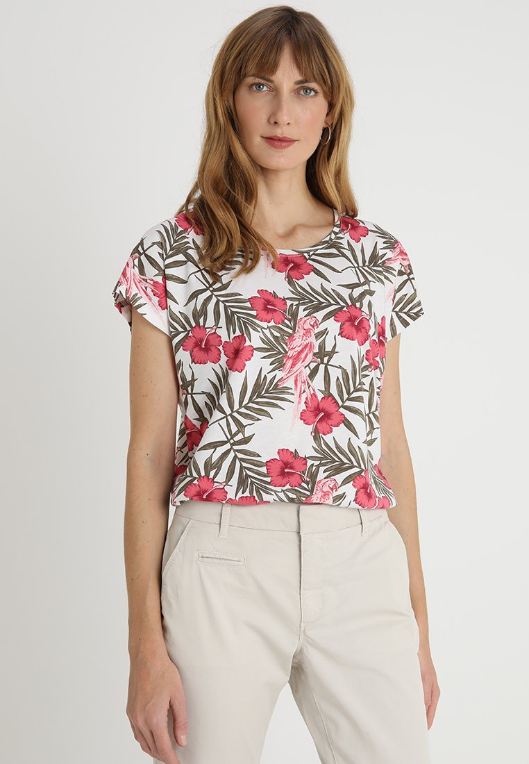 Soyaconcept - FELICITY - T-Shirt print - offwhite combi