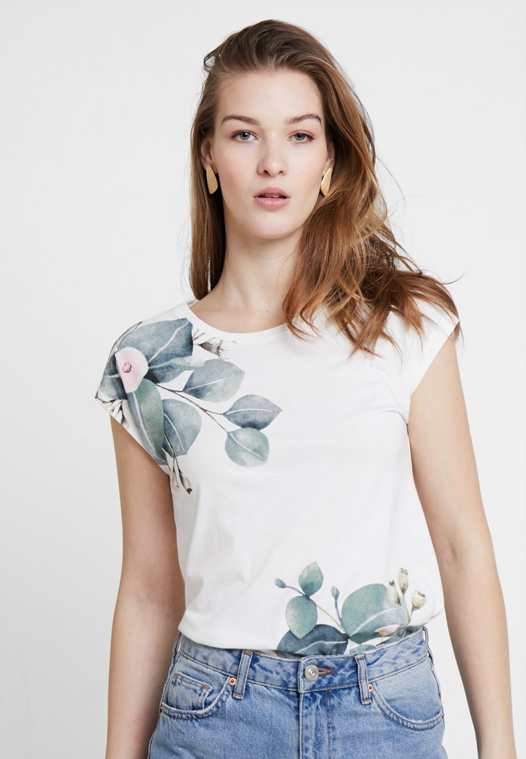 Soyaconcept - FELICITY  - Print T-shirt - offwhite