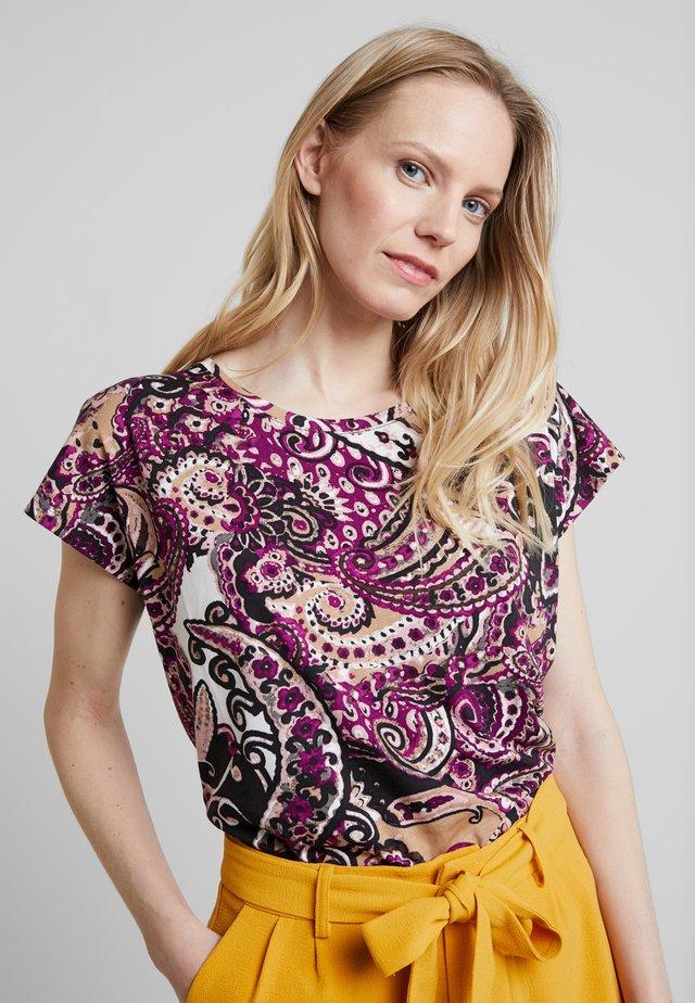 FELICITY - T-Shirt print - fushsia combi