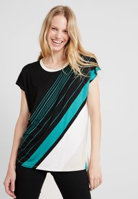 Soyaconcept - MARICA - T-shirt con stampa - ivy/green - 0