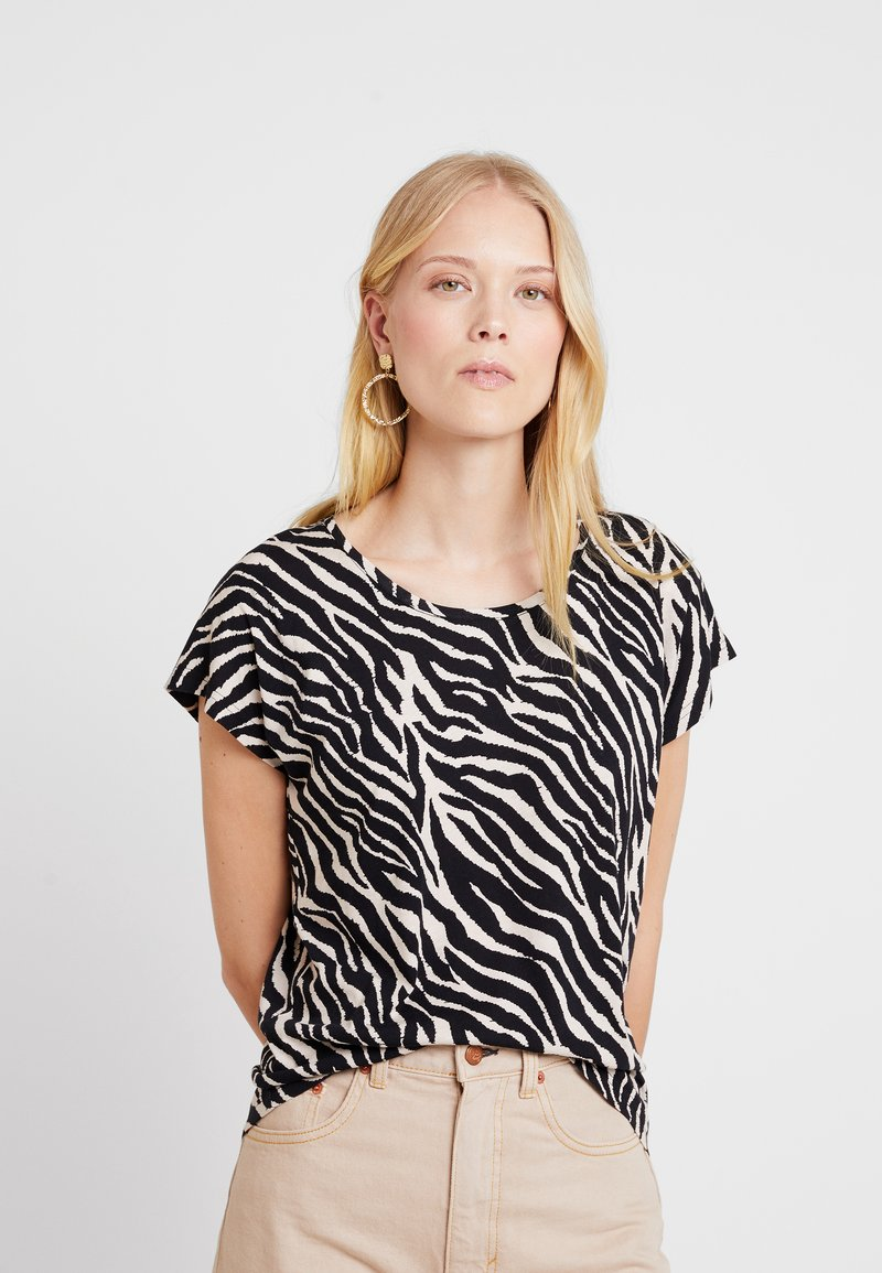 Soyaconcept - FELICITY - T-Shirt print - black combi