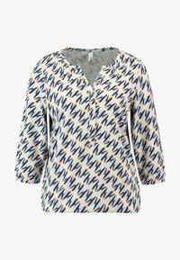 Soyaconcept - FELICITY - Bluzka z długim rękawem - powder blue combi - 3