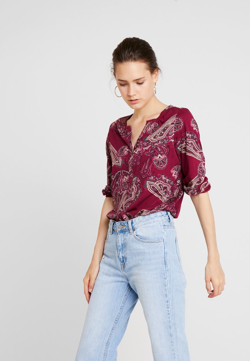 Soyaconcept - FELICITY - Long sleeved top - cabernet
