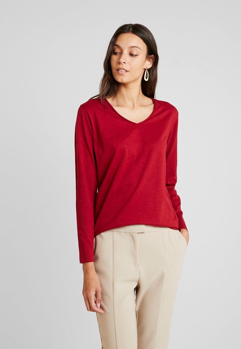 Soyaconcept - BABETTE - Langærmede T-shirts - cabernet