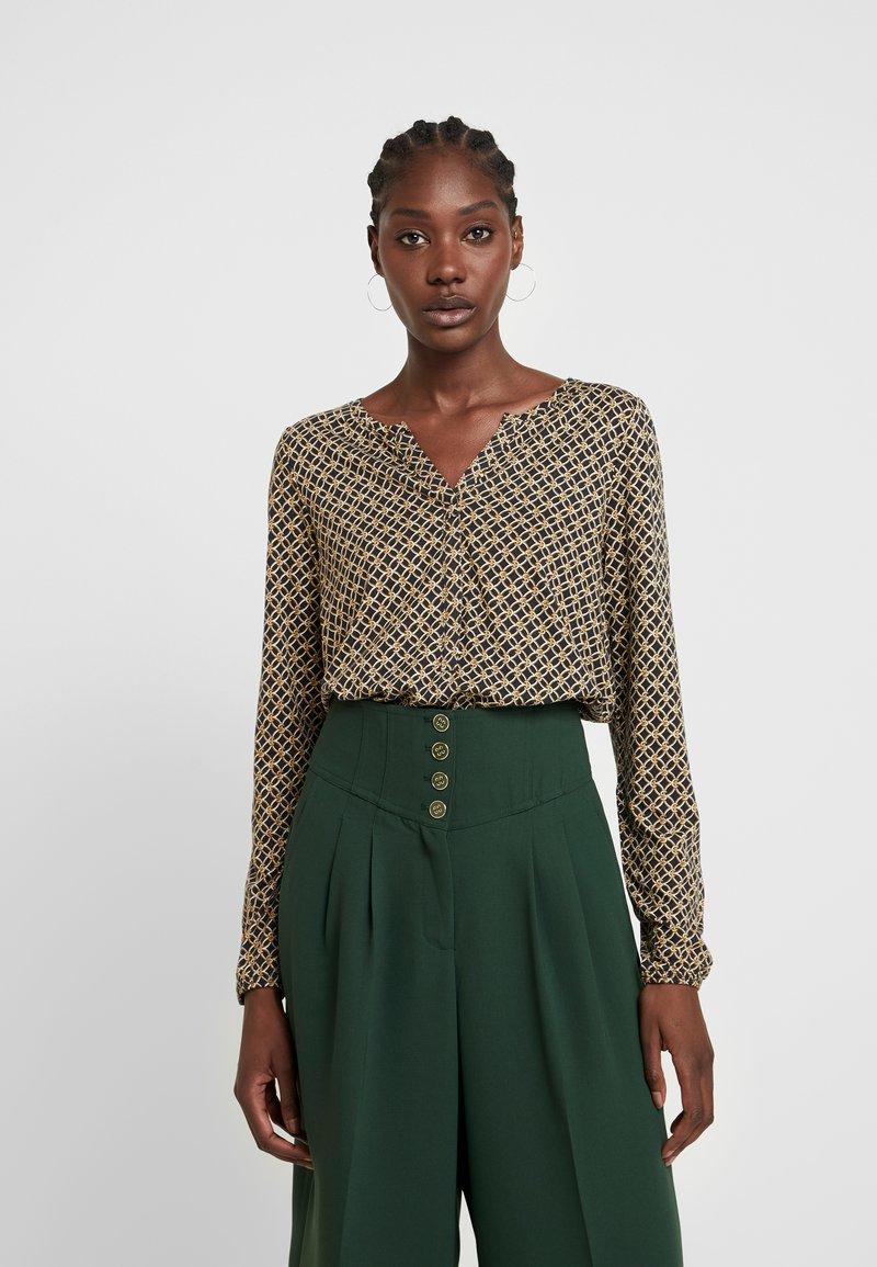 Soyaconcept - FELICITY - T-shirt à manches longues - golden brown combi