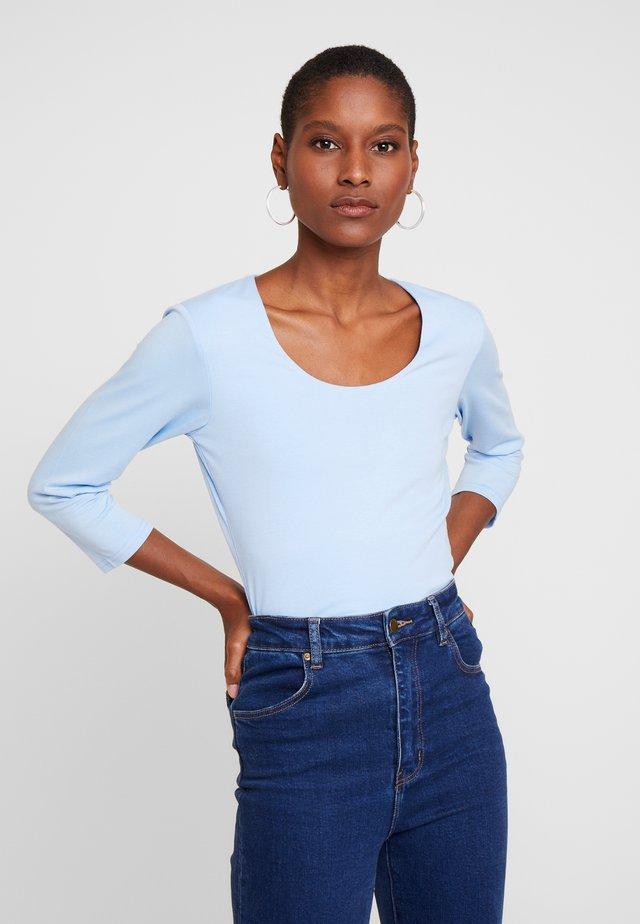 PYLLE - Maglietta a manica lunga - cristal blue