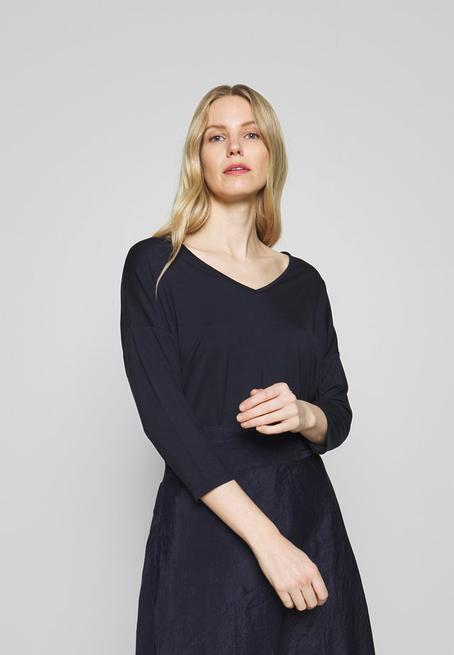 MARICA - Maglietta a manica lunga - navy