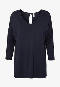 Soyaconcept - MARICA - Maglietta a manica lunga - navy - 4