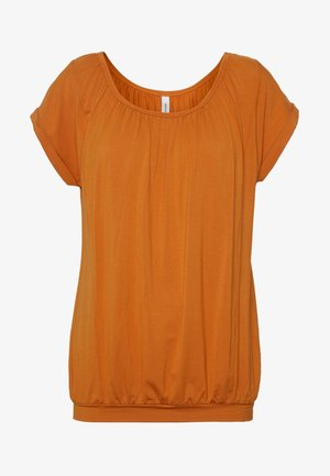 MARICA  - Jednoduché triko - dark orange