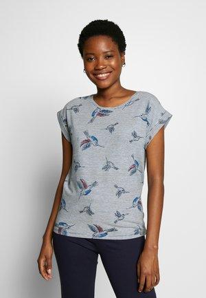 GALINA - T-shirts med print - navy combi