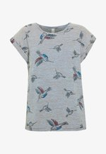 GALINA - T-shirt imprimé - navy combi