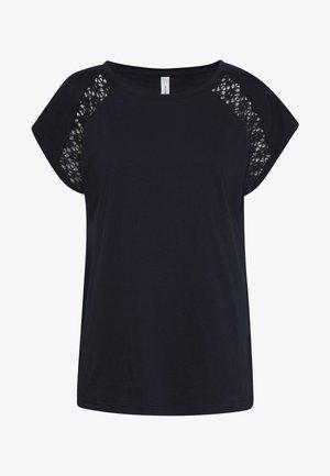 PYLLE - T-Shirt print - navy