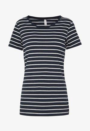 T-Shirt print - navy combi