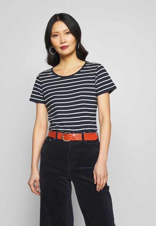 T-shirts med print - navy combi