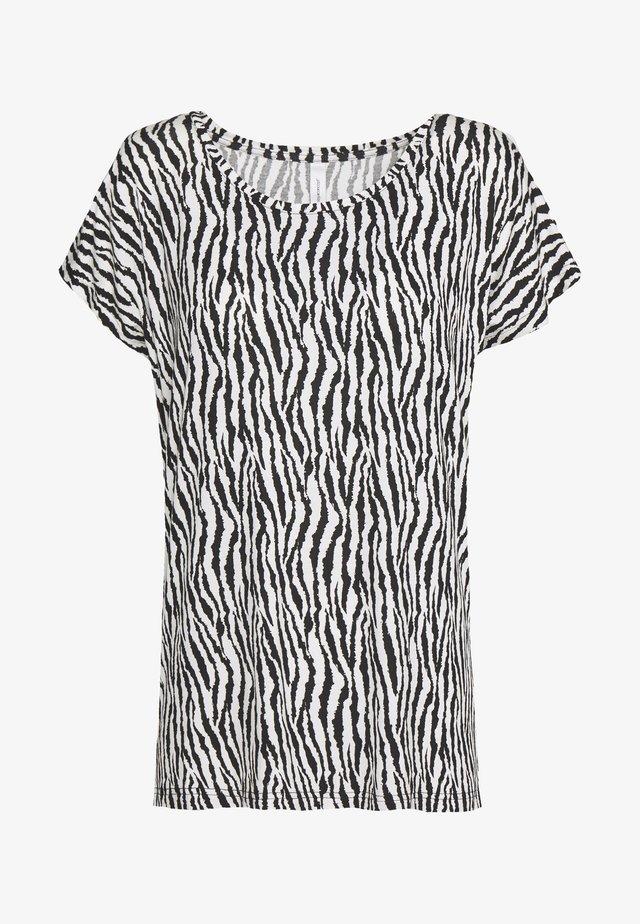 LIBA - T-shirt con stampa - black combi