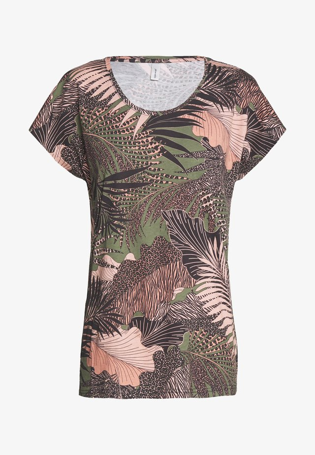 FELICITY - T-shirts med print - peach combi