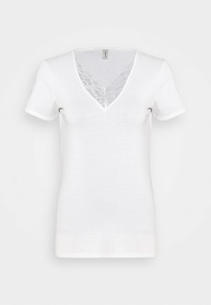 SC-PYLLE 237 - T-shirts med print - off white