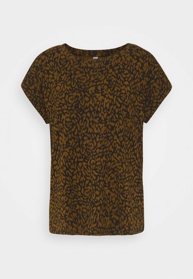 SC-KRISTA 2 - T-shirts med print - brown